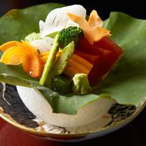 일본 전통식 코스요리집 – 야사이카이세키 나가미네 채식코스