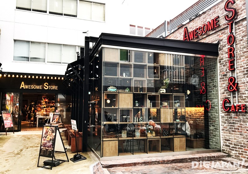AWESOME STORE & CAFE店外1