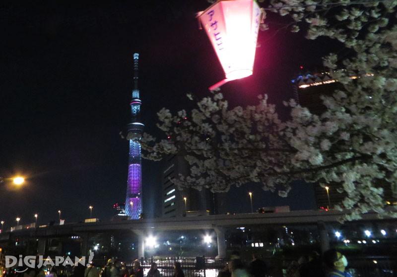 东京晴空塔夜景