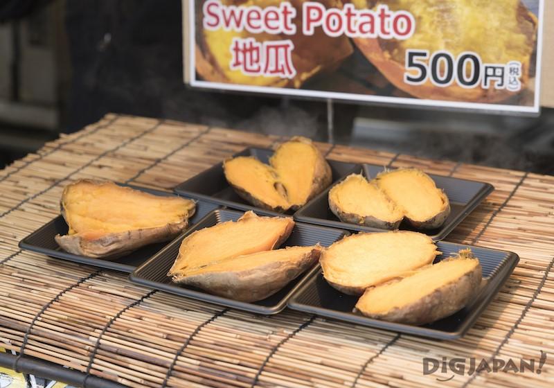 大通會場 甜薯