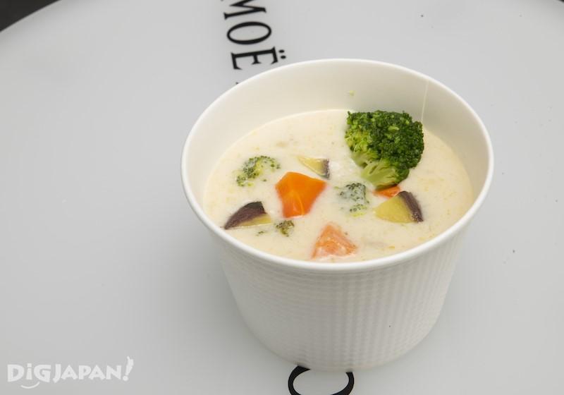 北海道産食材的餐點