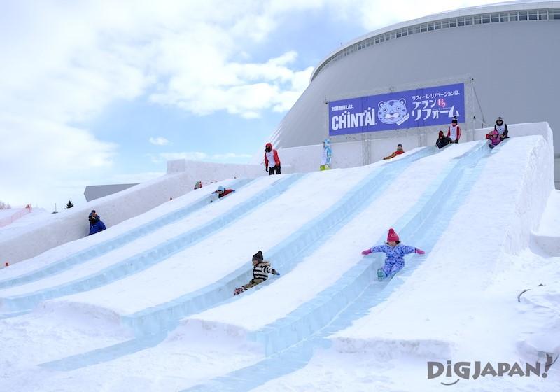 TSUDOME會場 雪溜滑梯