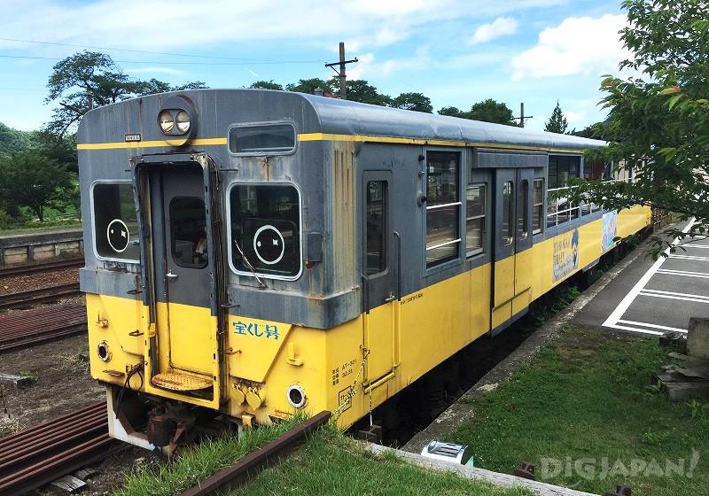 初代トロッコ列車AT-301