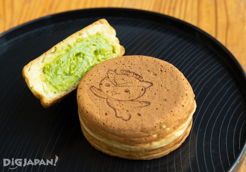 埼玉線所澤市吉祥物「トコろん(Tokoron)」的大判燒(紅豆餅)