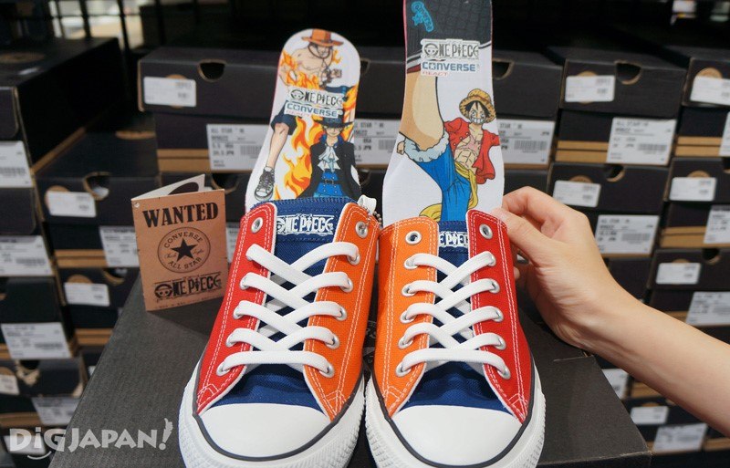 ONE PIECE款 CONVERSE