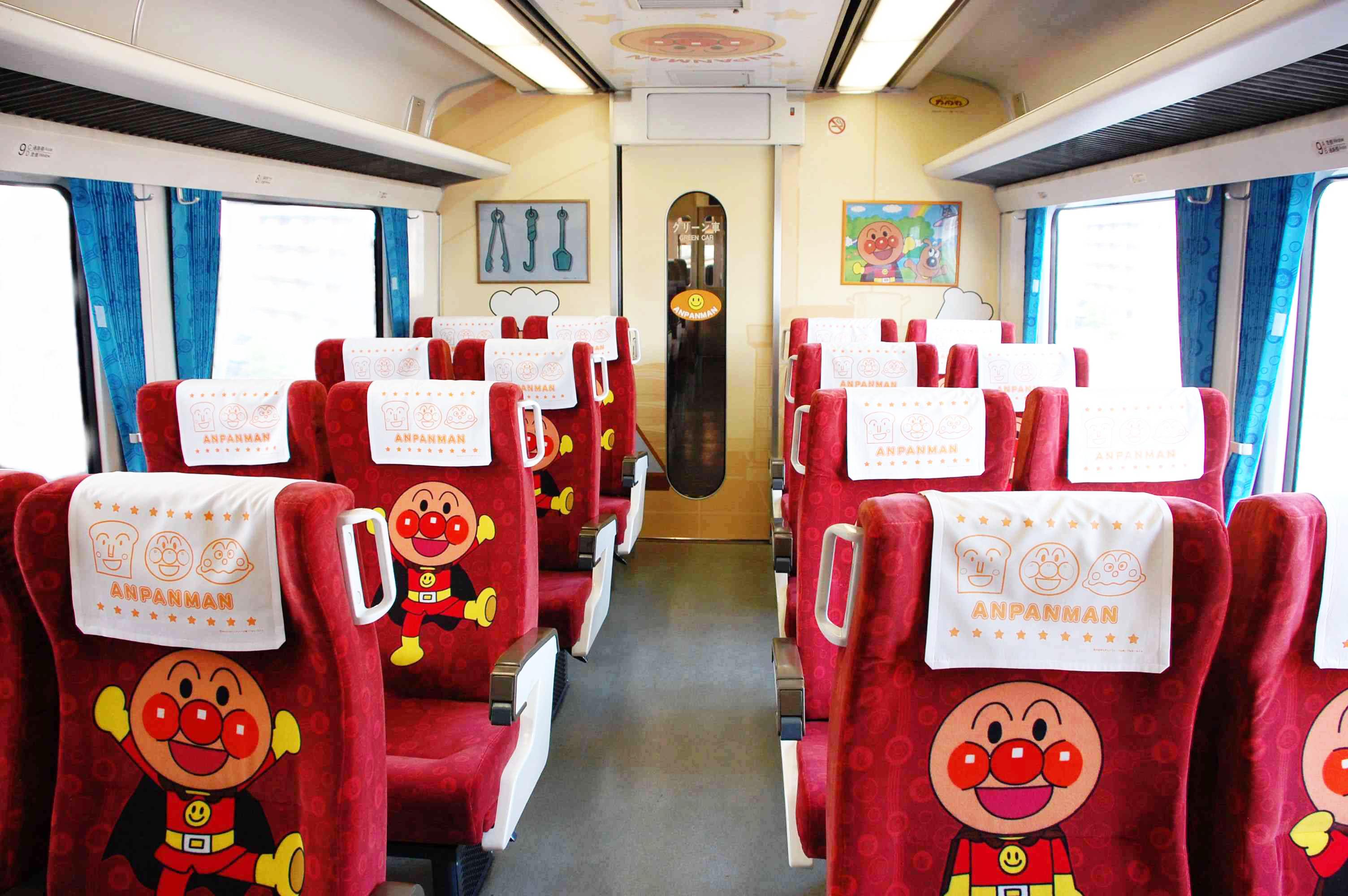 麵包超人列車-土讚線列車