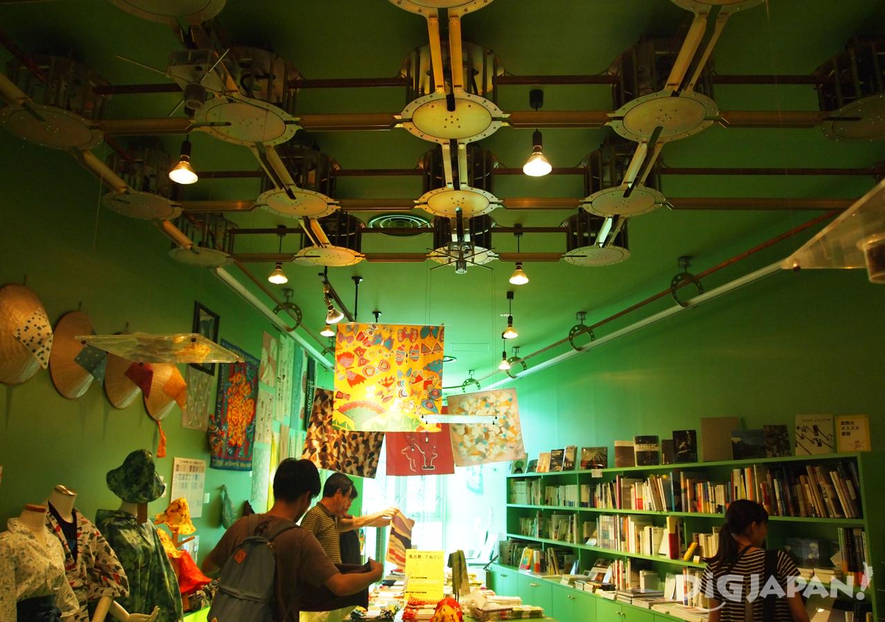 The museum shop inside the Matsudai Nobutai.