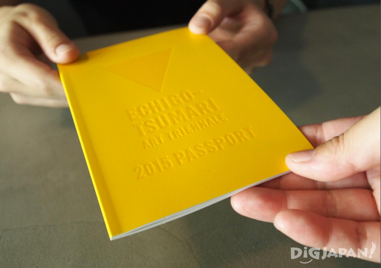 The 2015 Echigo-Tsumari Art Triennale Passport