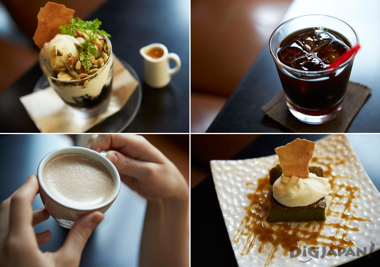 The food of Kayaba Coffee