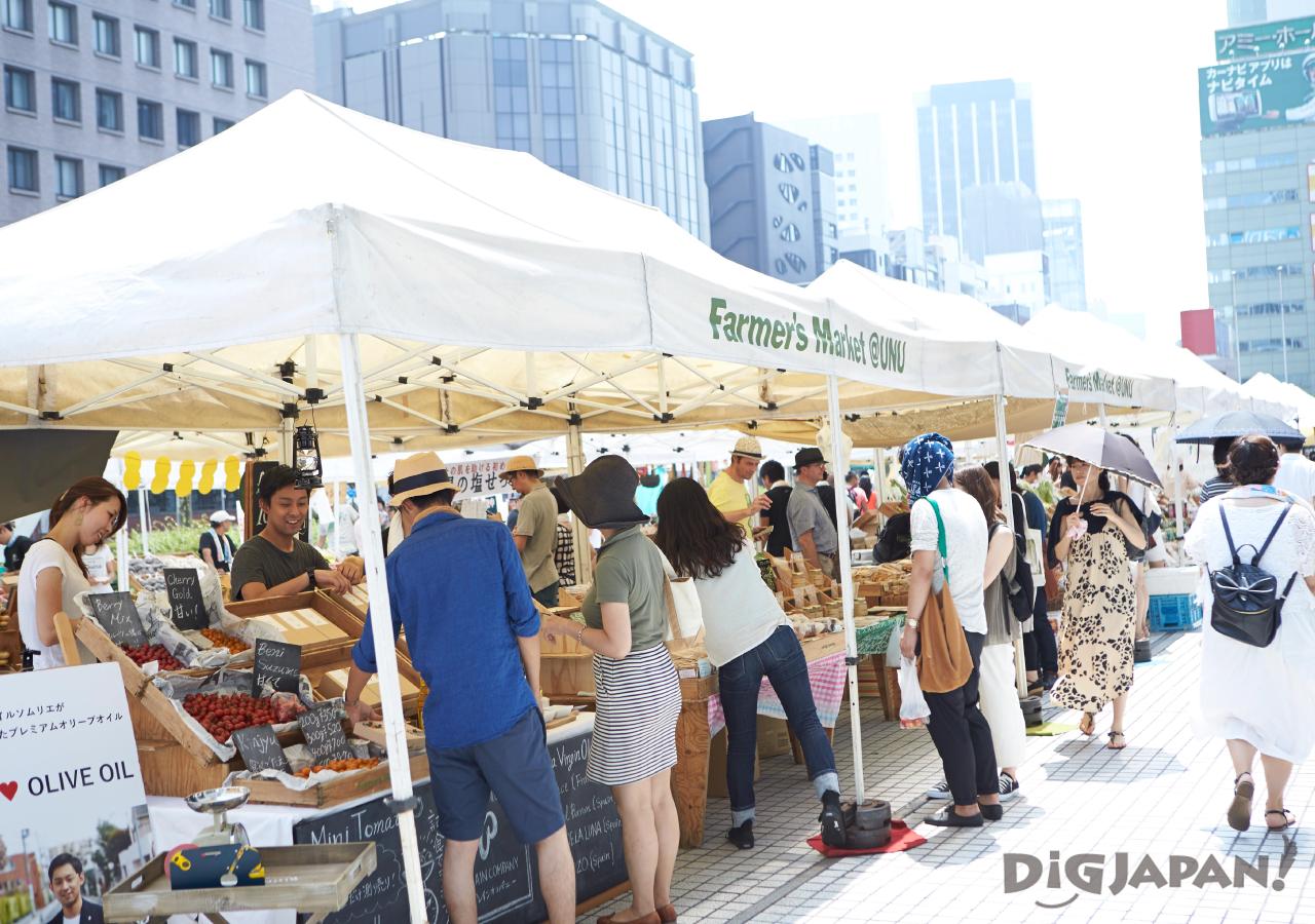 farmers market風景