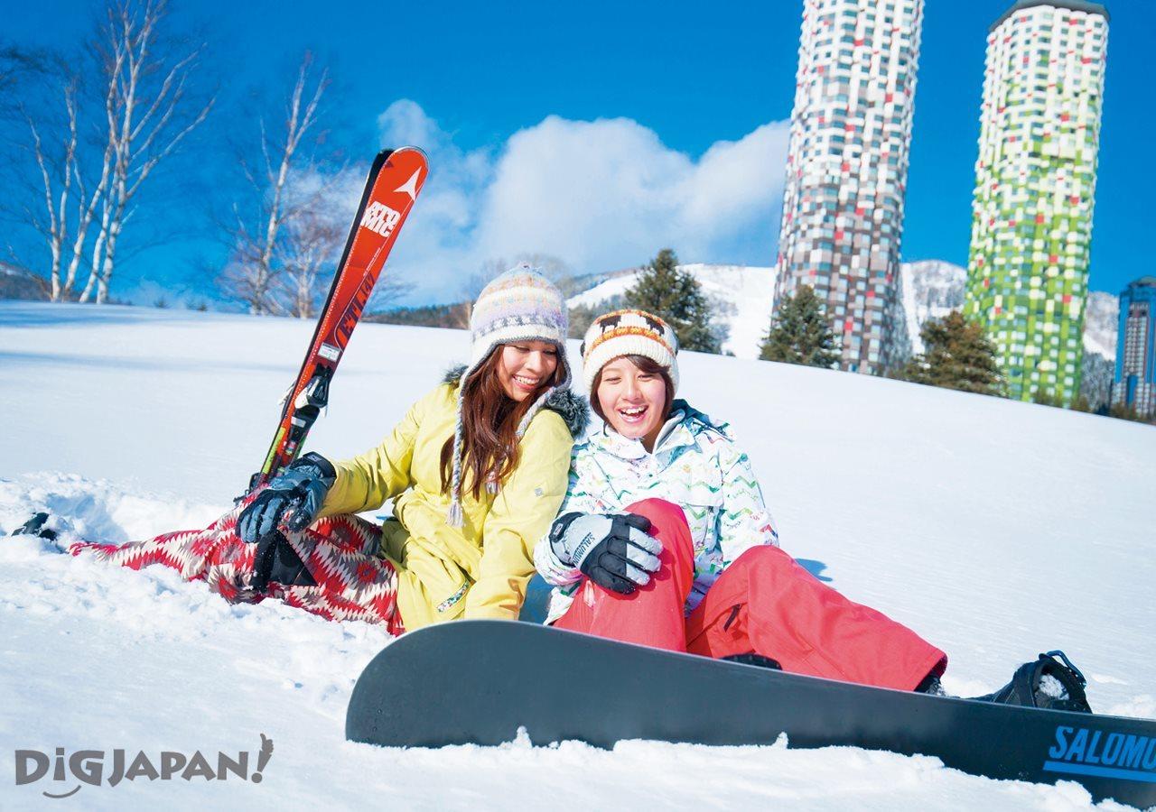 冬季保留节目—滑雪!