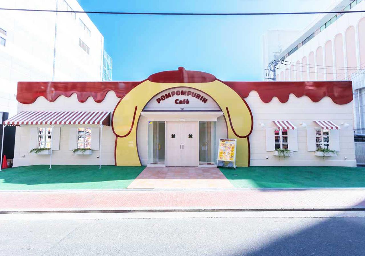 POMPOMPURIN Café-店頭