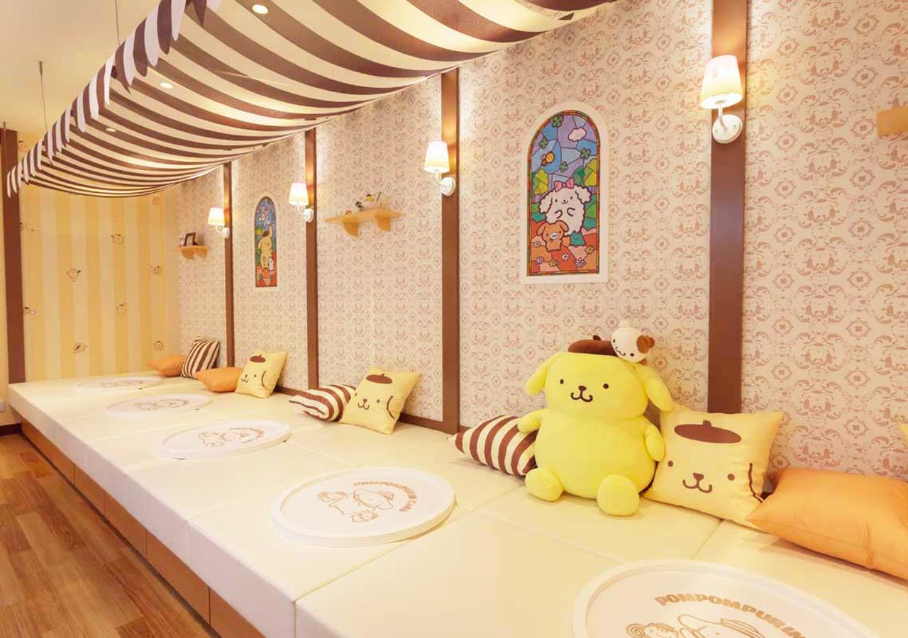 POMPOMPURIN Café-店內-3