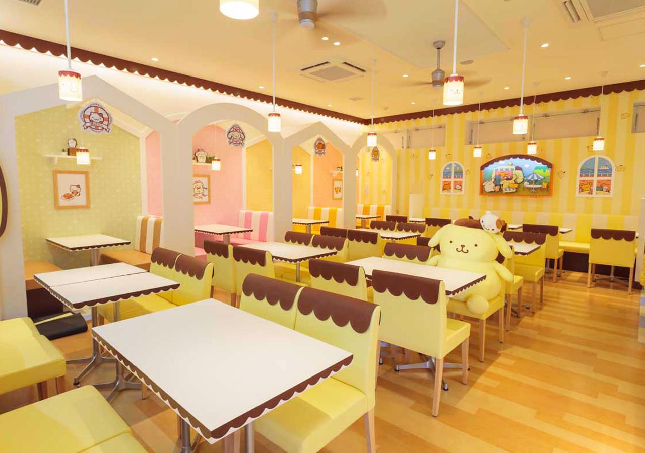POMPOMPURIN Café-店內-4