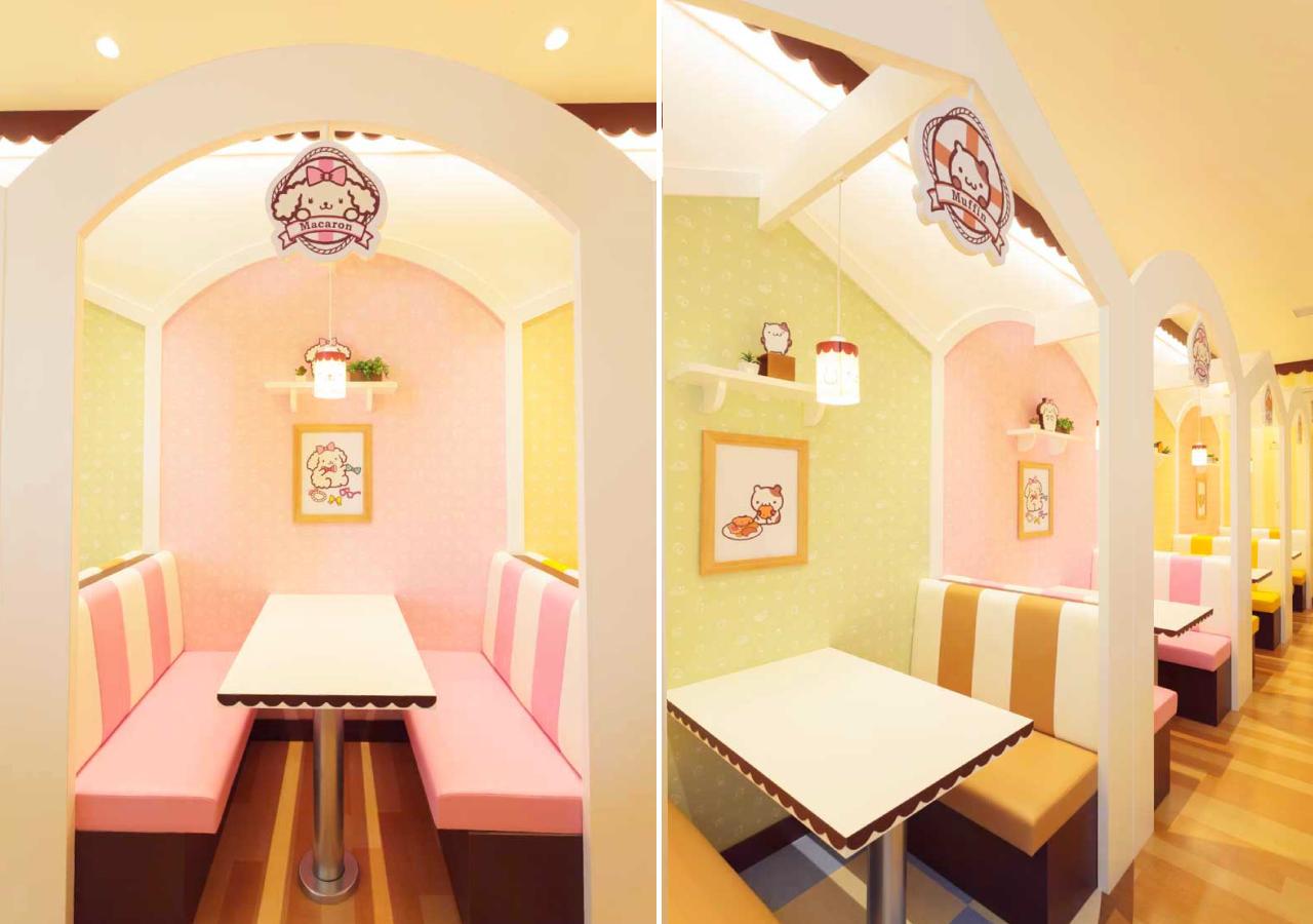 POMPOMPURIN Café-店內-5