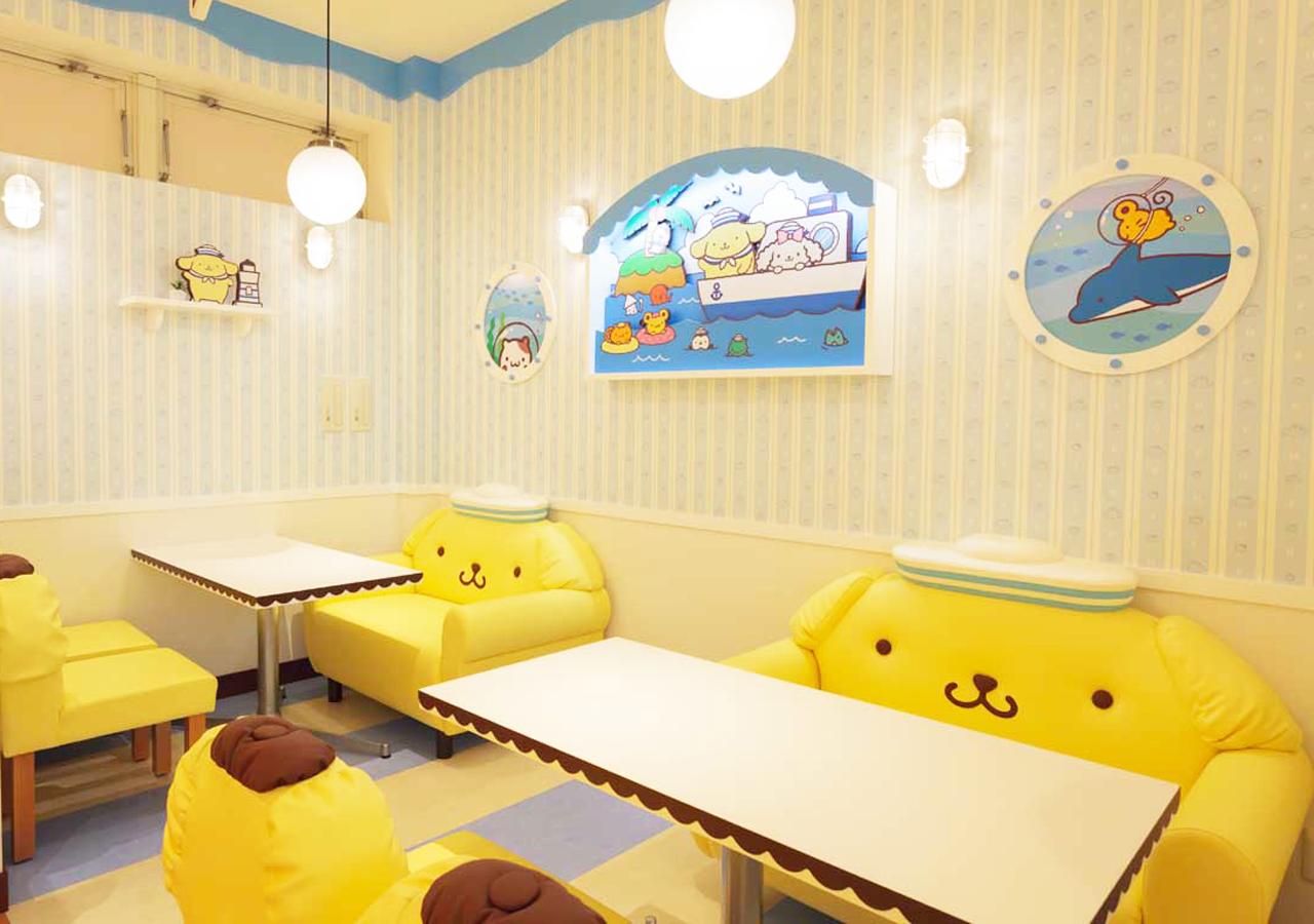 POMPOMPURIN Café-店內-7