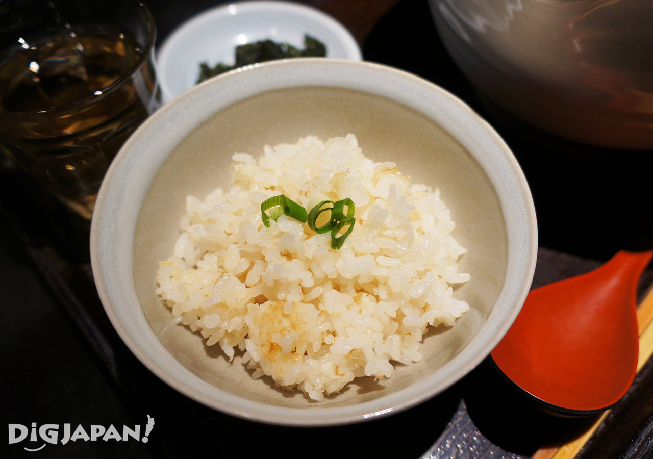 銀笹-鯛魚飯