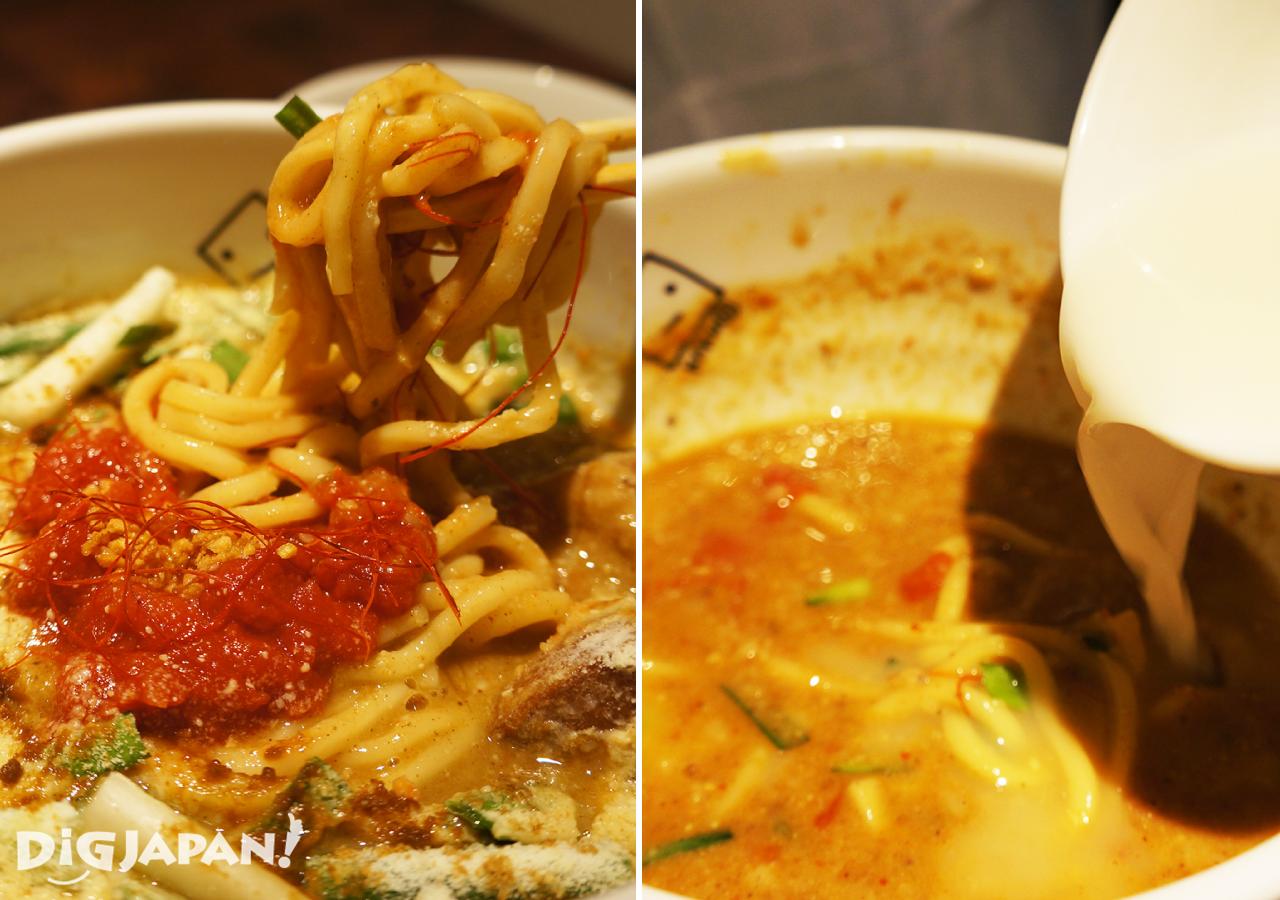 角榮-麵條和湯頭