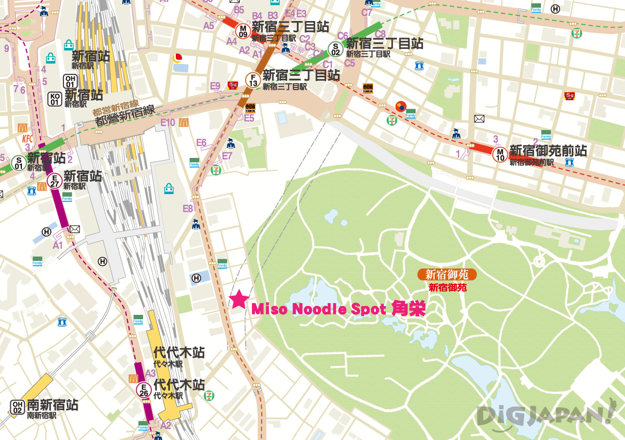 角榮-地圖