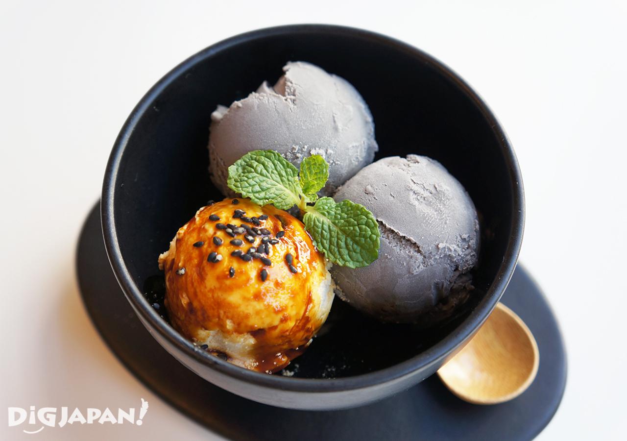 九月堂-黑芝麻冰淇淋