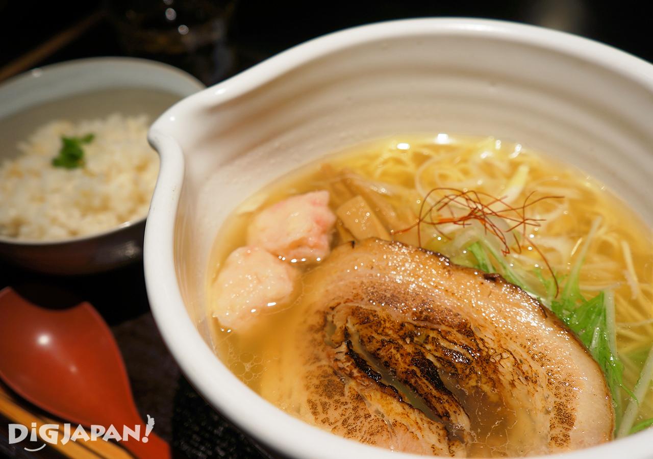 銀笹-鹽味拉麵+鯛魚飯