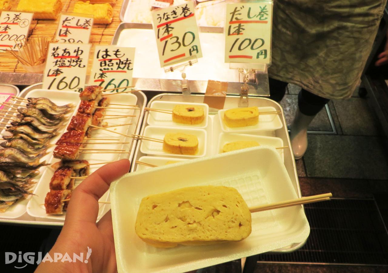 錦市場-玉子燒