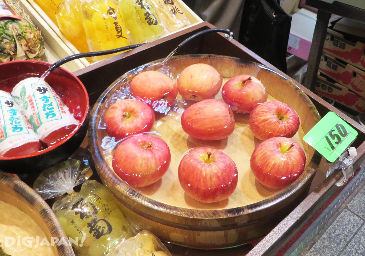 錦市場-冰鎮蘋果