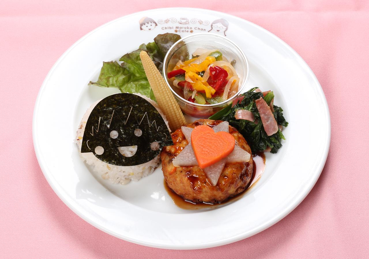 小丸子的健康豆腐漢堡排餐
