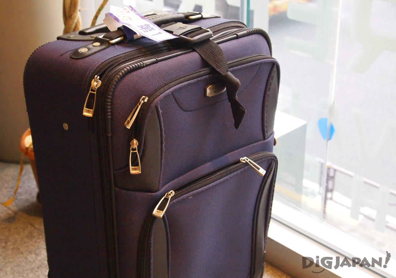 First Time Travelers in Japan 10 Tips luggage forwarding services