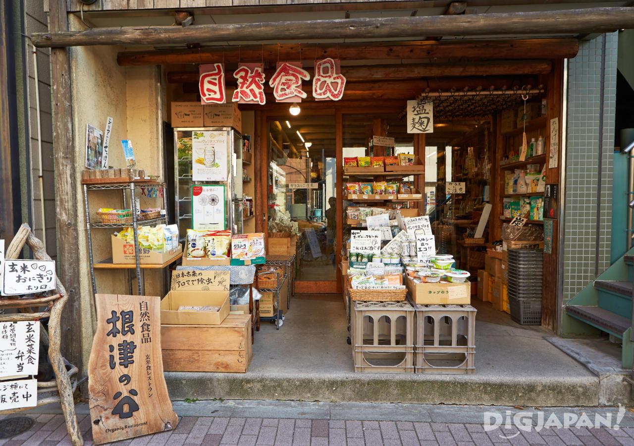 일본 도쿄 채식 네즈노야 외관
