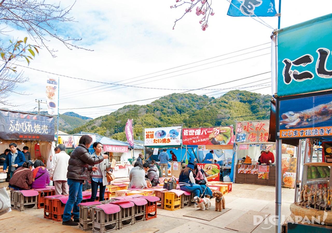 河津櫻花祭-攤販