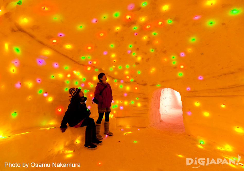 Echigo Tsumari Winter Event Corridor of Light