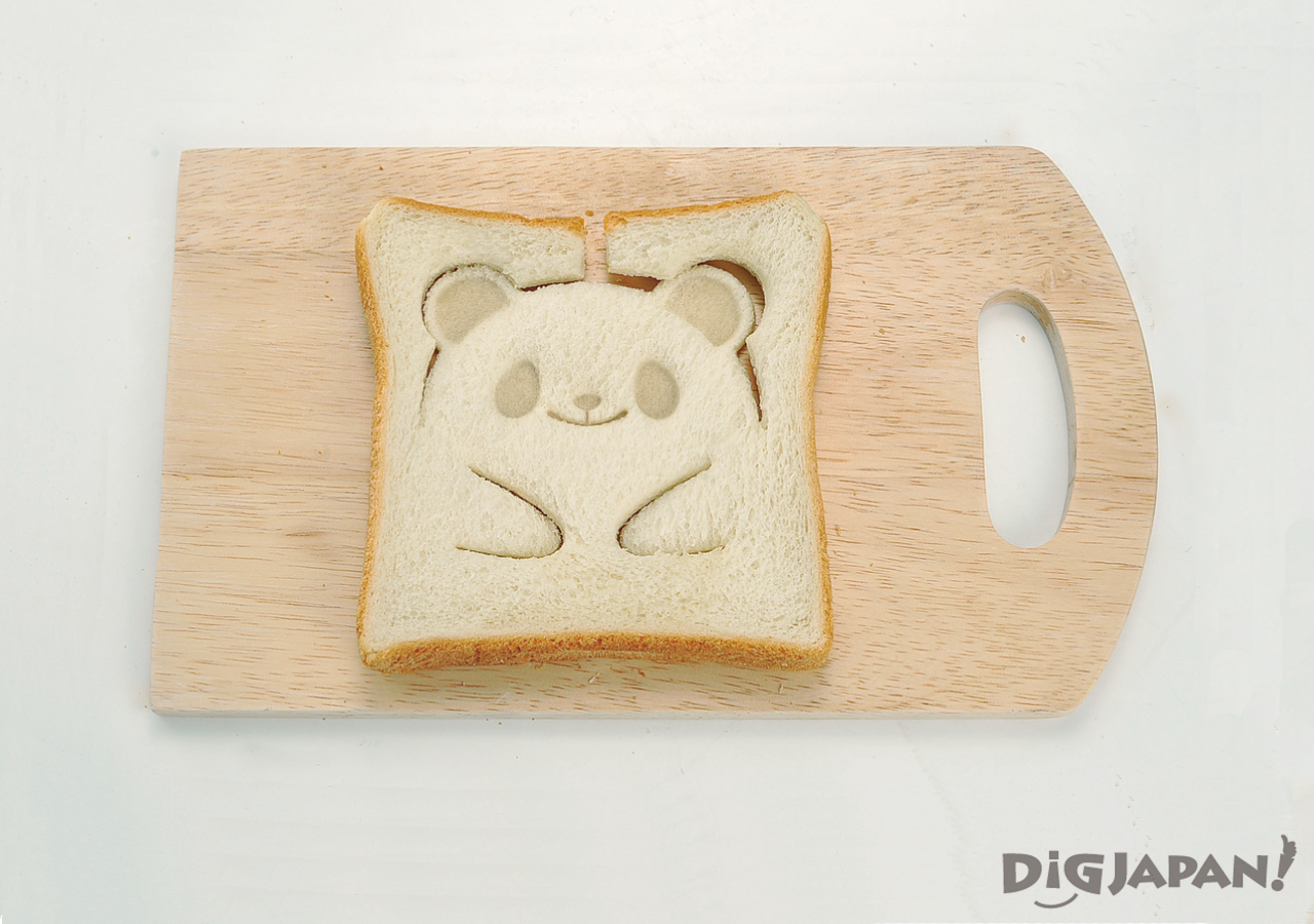 팬더 식빵 토스트 만들기 찍은 후
