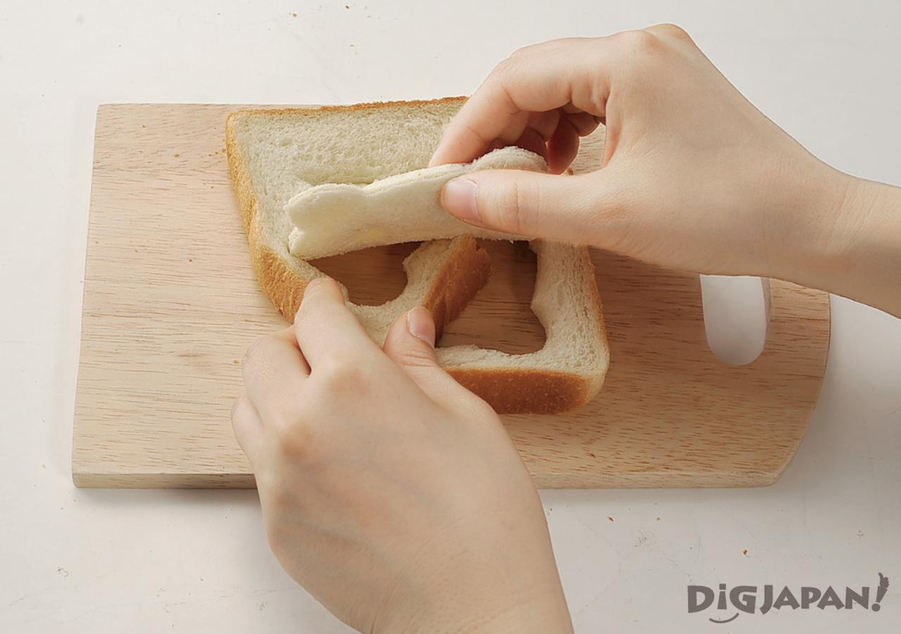 팬더 식빵 토스트 만들기 분해조립