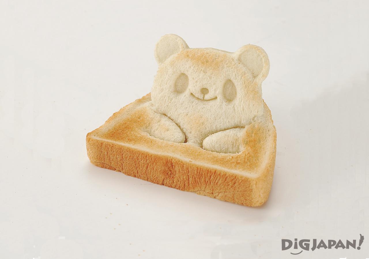 팬더 식빵 토스트 만들기 구운 후