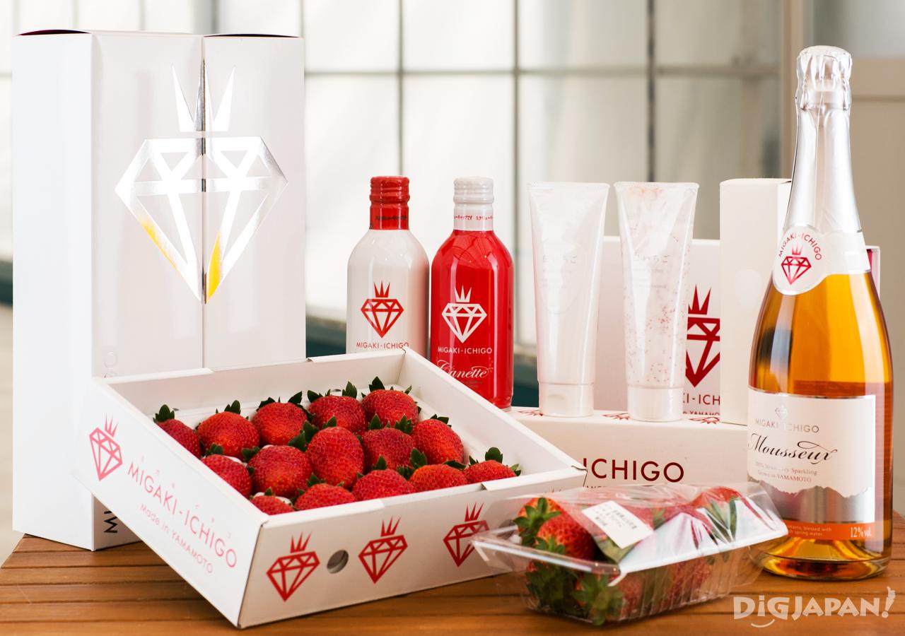 MIGAKI-ICHIGO Wine and Organic Cosmetics