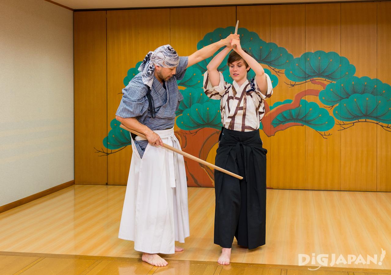 Samurai Sword Experience lesson KILL BILL