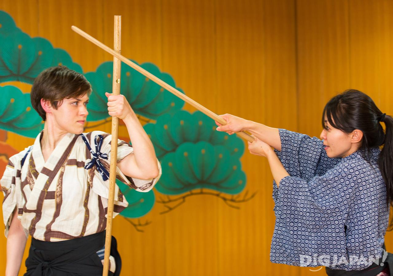 Samurai Sword Experience fight scene KILL BILL