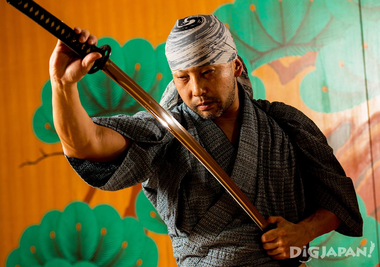 Samurai Sword Kill Bill Tetsuro Shimaguchi KILL BILL