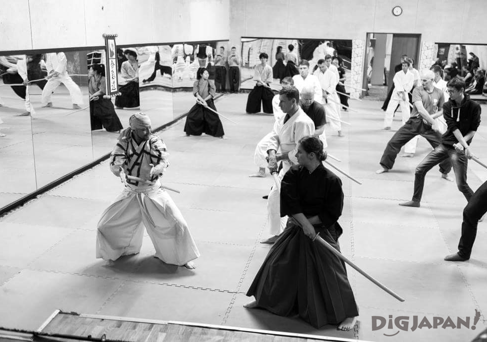 Samurai Sword Experience tourists KILL BILL