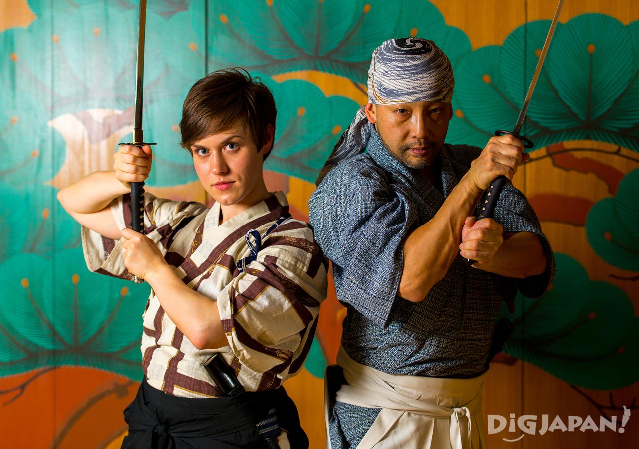 KILL BILL Samurai Sword pair
