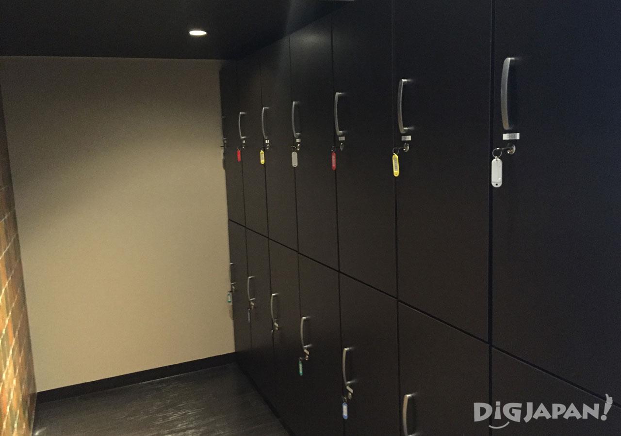 The Ryokan Tokyo Yugawara lockers