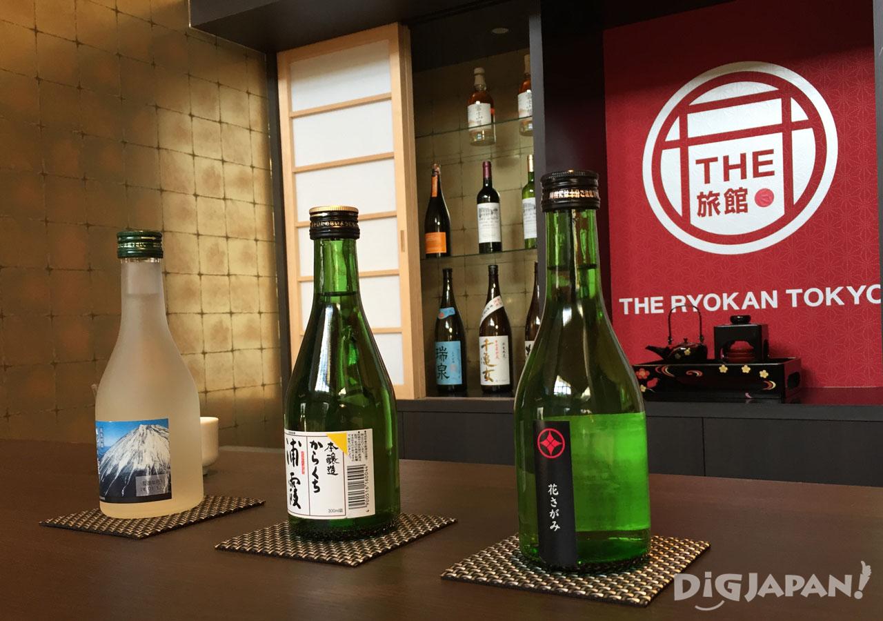 The Ryokan Tokyo Yugawara sake bar