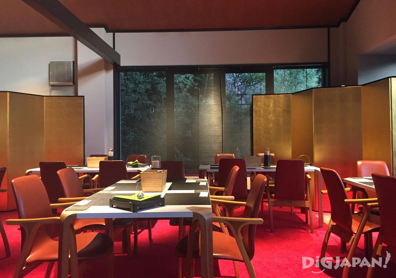The Ryokan Tokyo Yugawara dining room