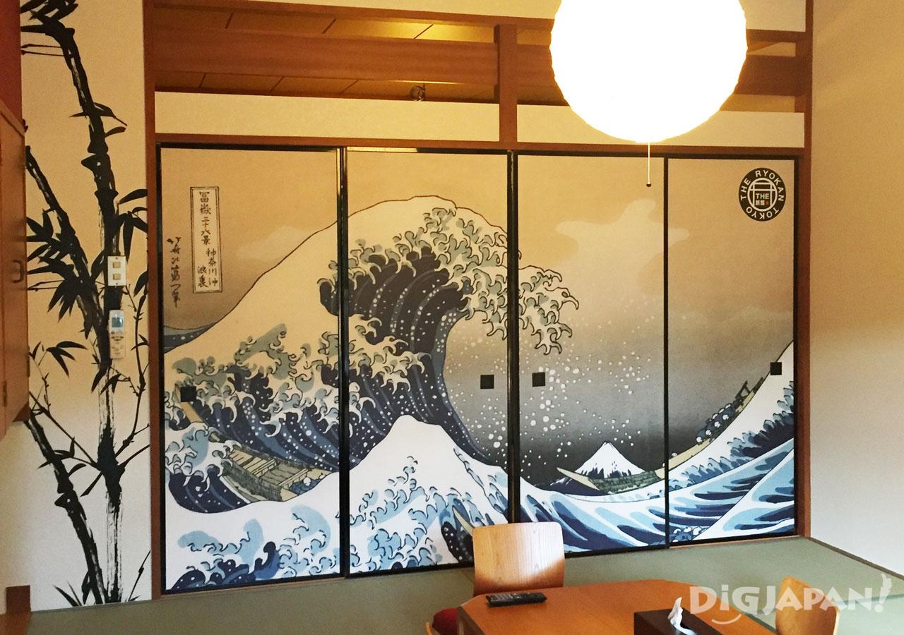 The Ryokan Tokyo Yugawara Hokusai The Wave