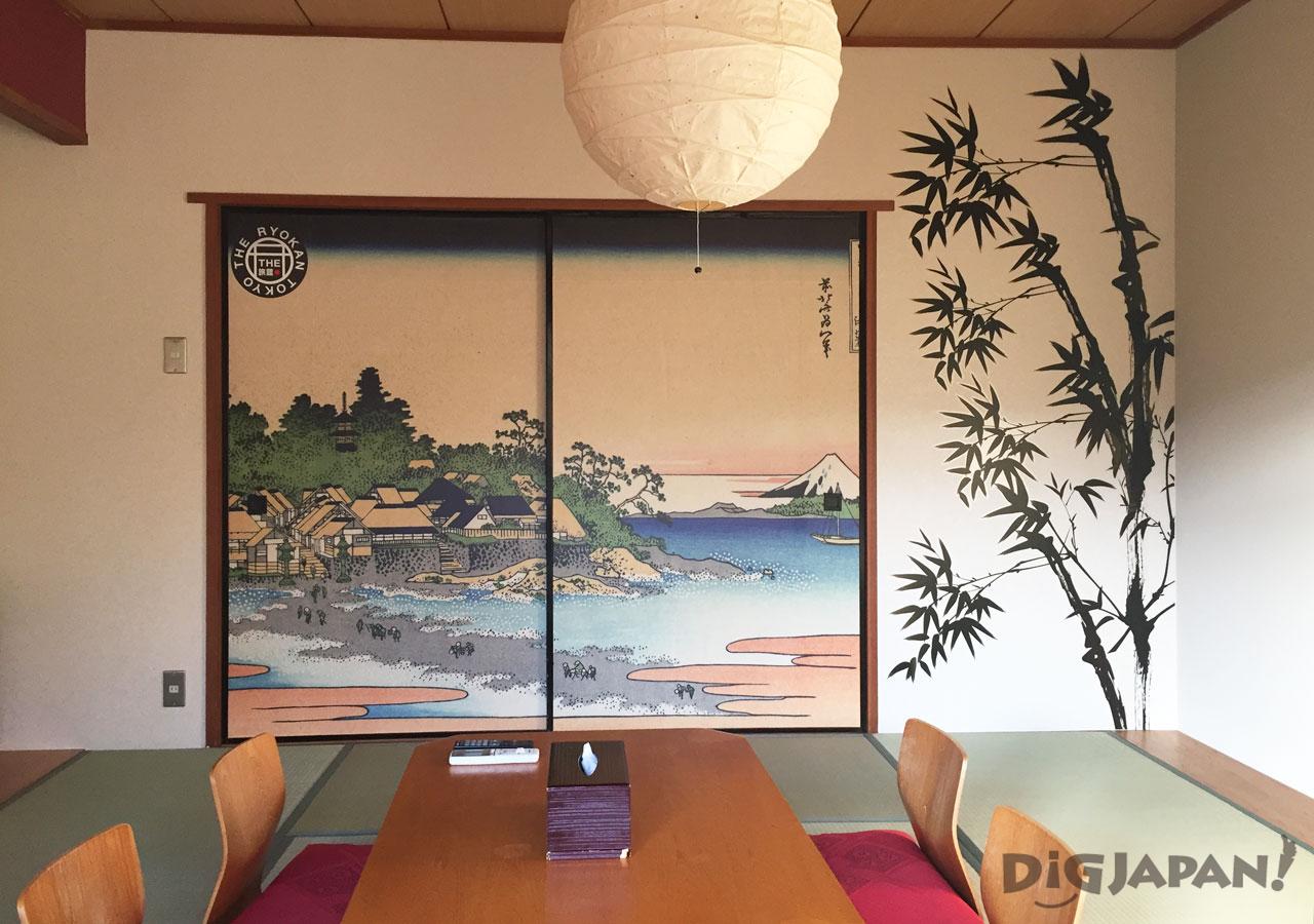 The Ryokan Tokyo Yugawara ukiyo-e