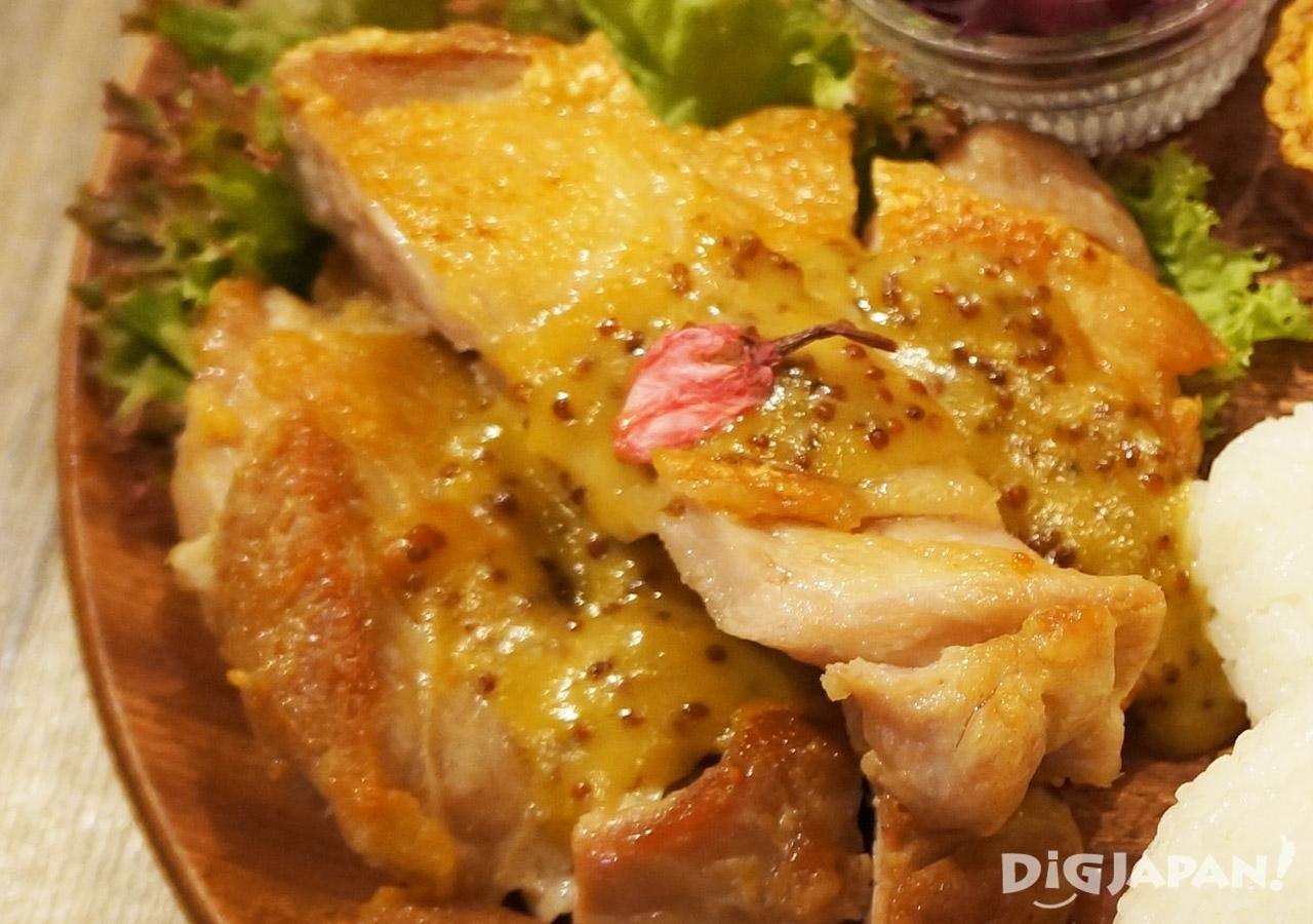 小朋友午餐大人版 Nicolas獨家櫻花醬烤雞排-2