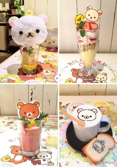 rilakkuma cafe11