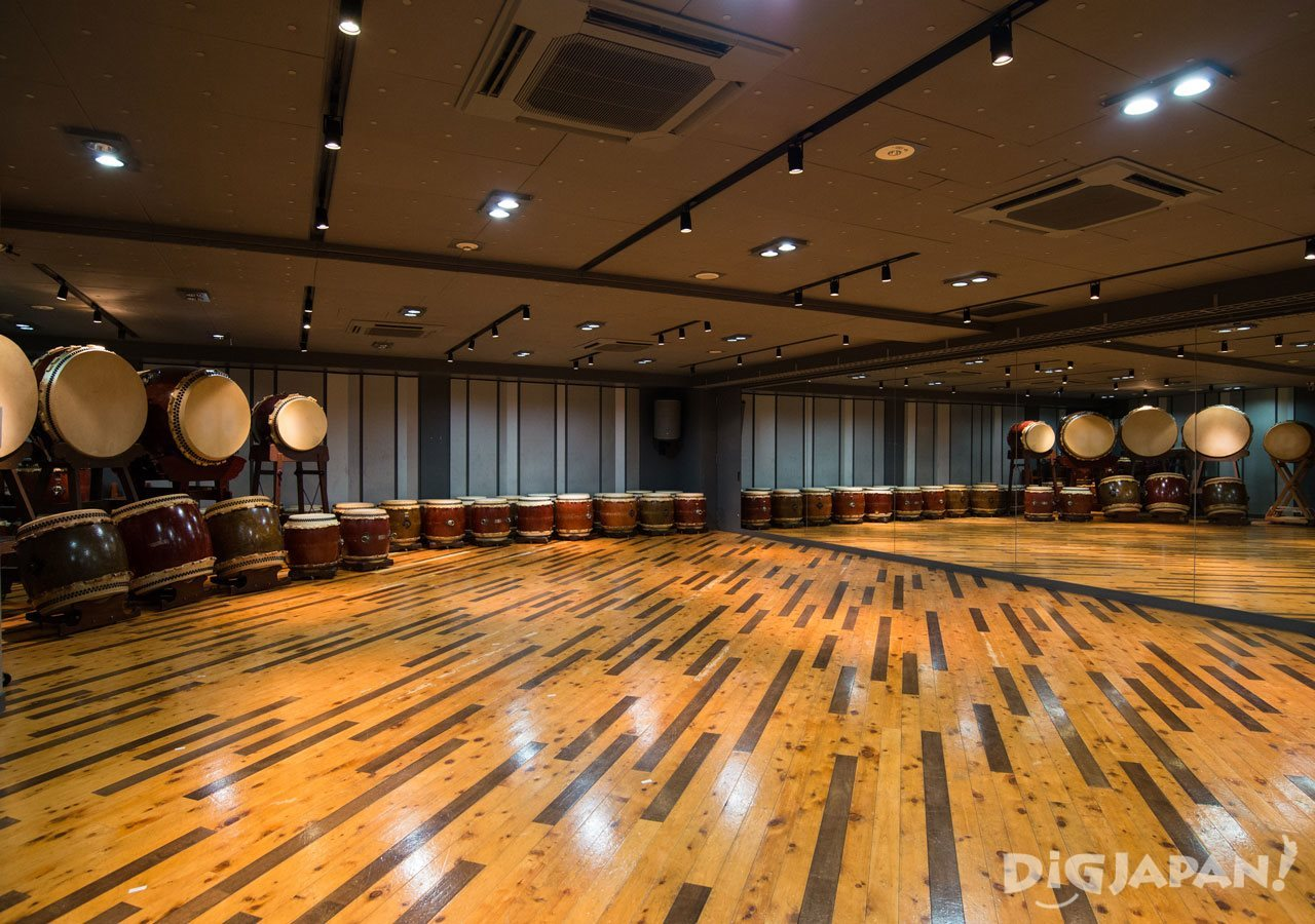 The largest room at Taiko-Lab Aoyama