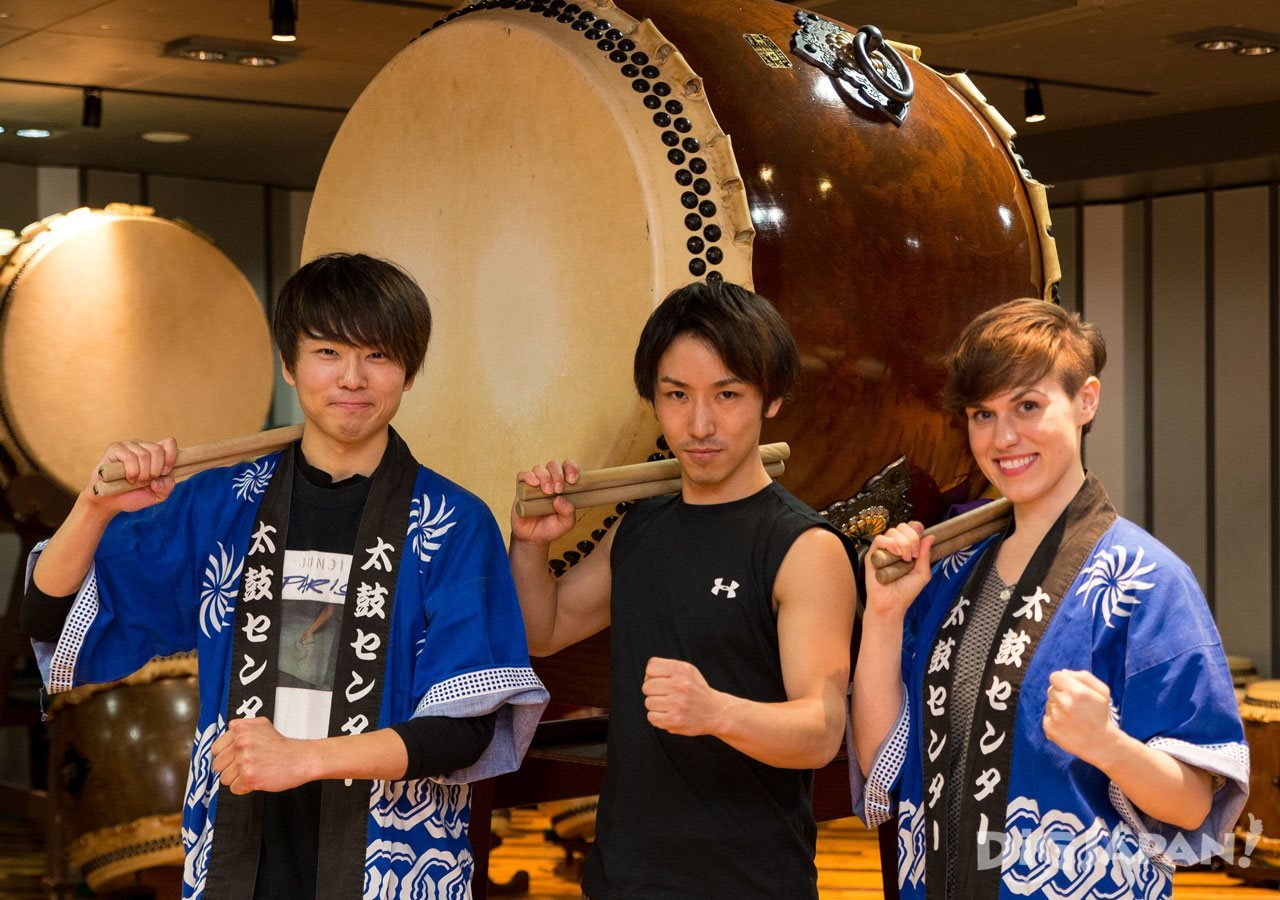 Taiko-Lab Aoyama teacher and students